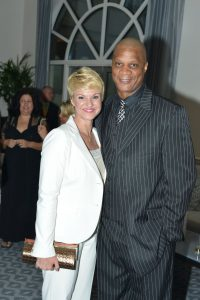 Darryl and Tracy Strawberry at the annual Gratitude House Gala