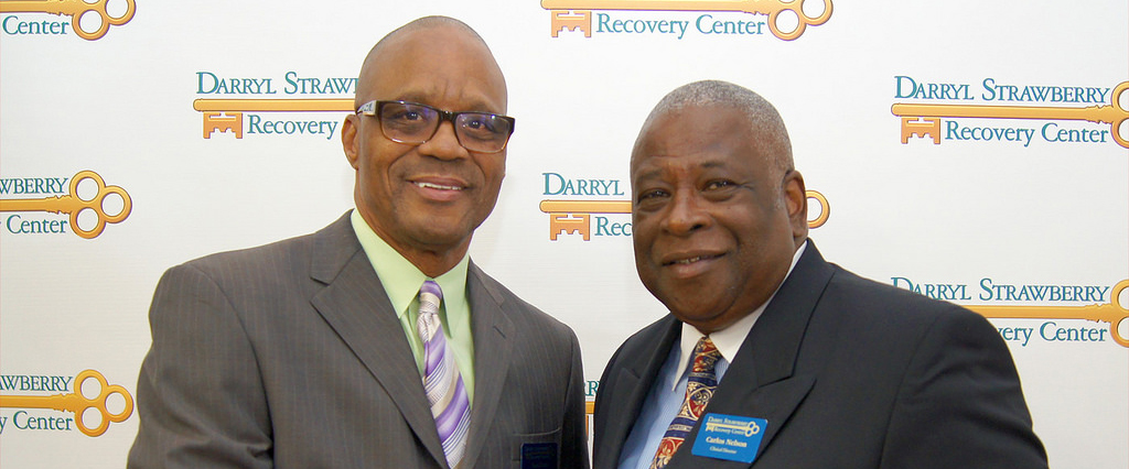 darryl strawberry recovery center ron dock interventionist celebrates  years of sobriety