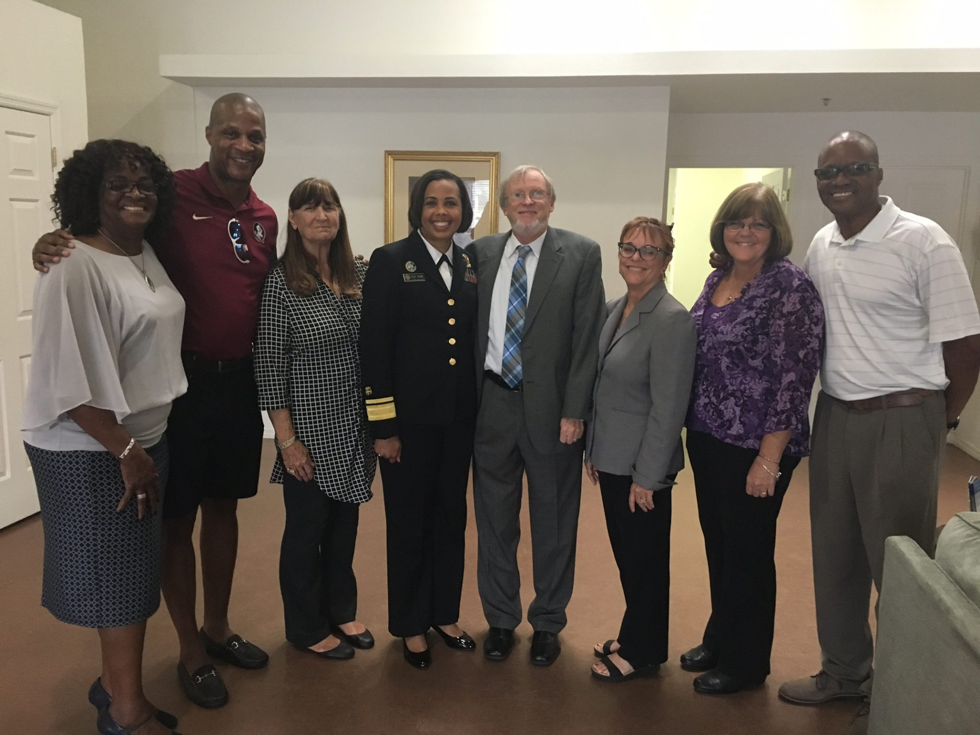 US Deputy Surgeon General Visits Darryl Strawberry Recovery Center